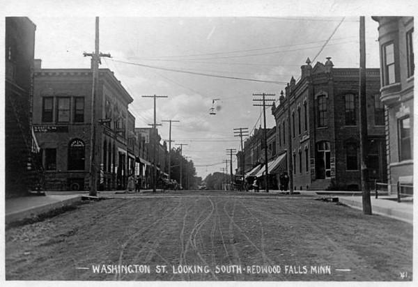 Washington St from north