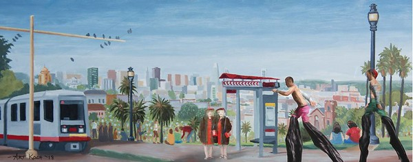 Connected Perspectives of San Francisco's Neighborhoods by Art Koch