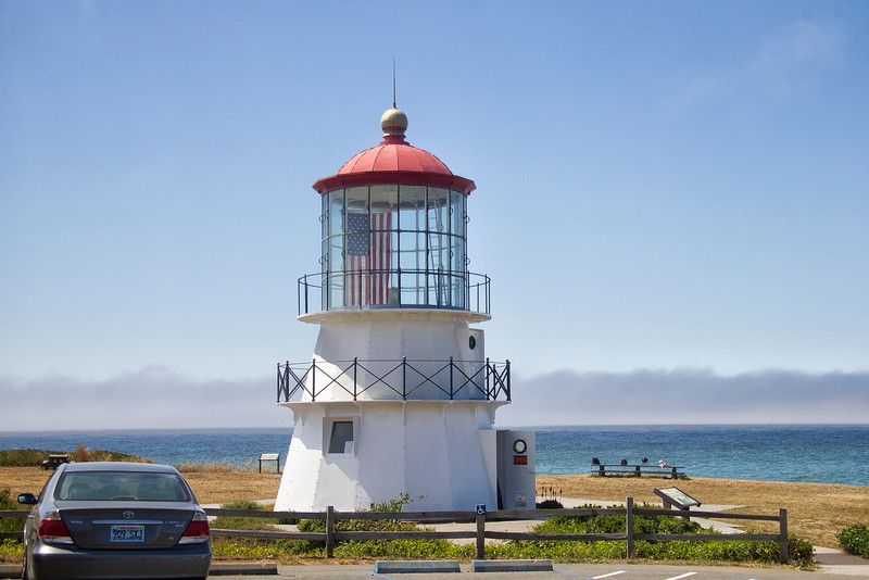 Cape Mendocino Light at Shelter Cove, California