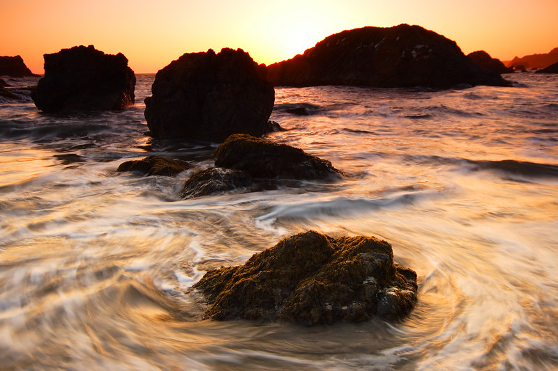 Whirlpool Waves Harris Beach State Park Oregon