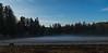 Fog At Lower End Elk Prairie