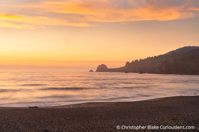 DeMartin Beach Sunset