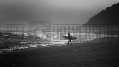 California Sunrise Surfer - Klamath, CA