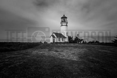 Cape Blanco Lighthouse on Oregon's Pacific Coast
