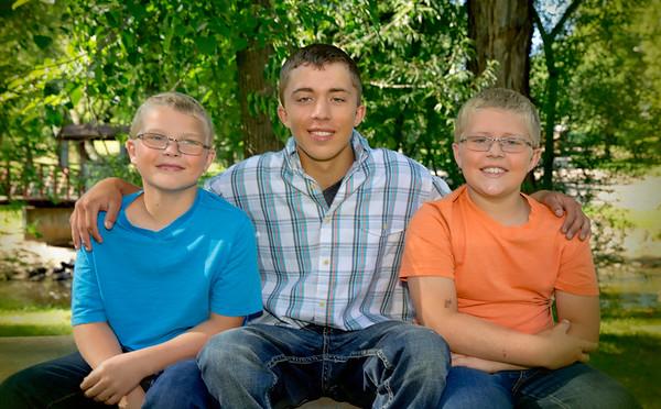 Reed, Cody, and Luke