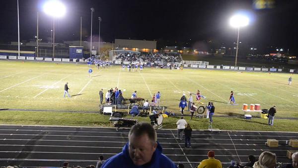 Reed High Football vs N. Valleys 10/17/2014