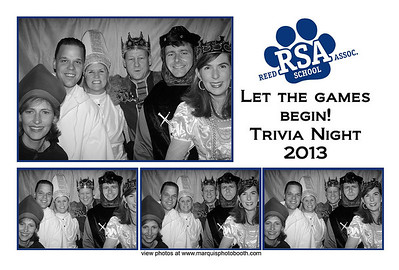 Reed School Trivia Night 2-9-13