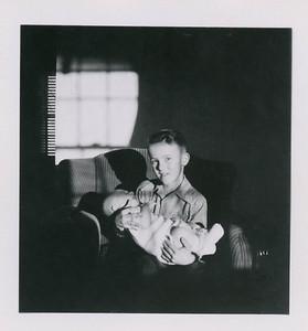 Steve holding Marv Reeder