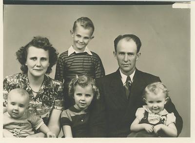 Herman & Melvina Fonnesbeck Family