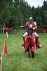 Ridder Erik viser seg frem