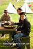 Breakfast at Civil War Camp, Springfield, Illinois