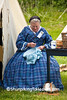 Civil War Camp Reenactor, Springfield, Illinois