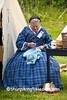 Civil War Camp Reenactor, Springfield, Illinois
