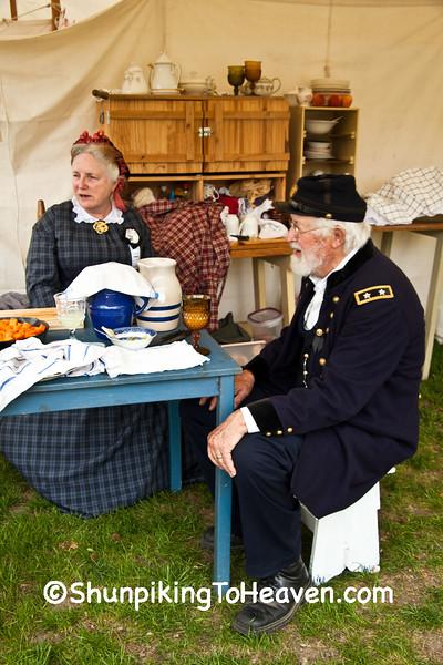 Civil War Camp Reenactment, Springfield, Illinois