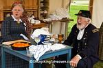 Civil War Camp Reenactors, Springfield, Illinois