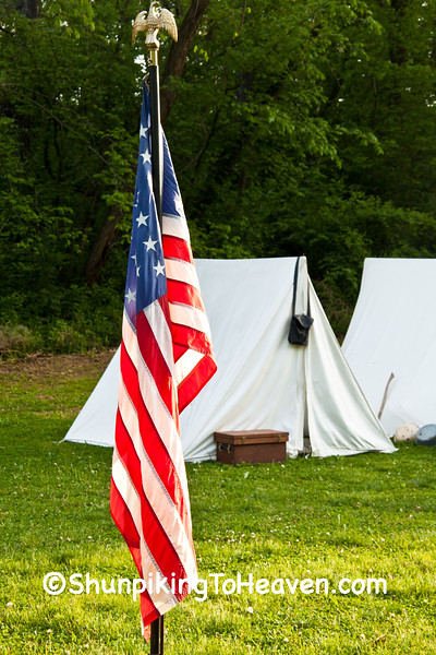 Civil War Camp, Springfield, Illinois