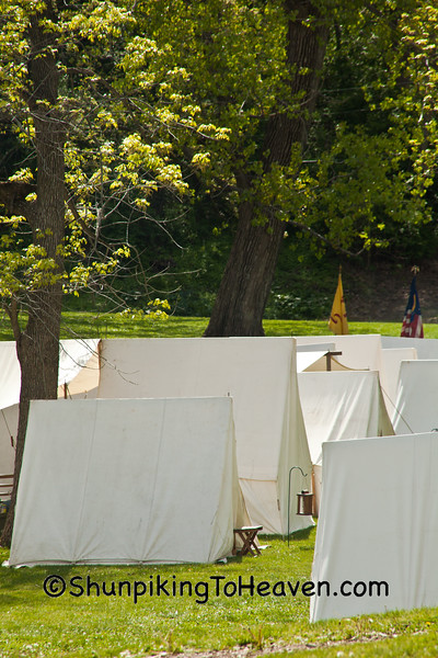 Civil War Camp Reenactment, Springfield, Illinois