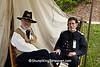 Union Officers, Civil War Camp Reenactment, Springfield, Illinois