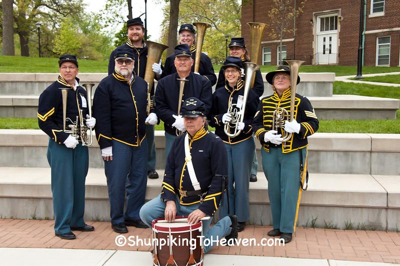 10th Illinois Volunteer Cavalry Regiment Band, Springfield, Illinois