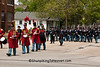 President Lincoln's Own Band, and Civil War Officer Reenactors, Springfield, Illinois