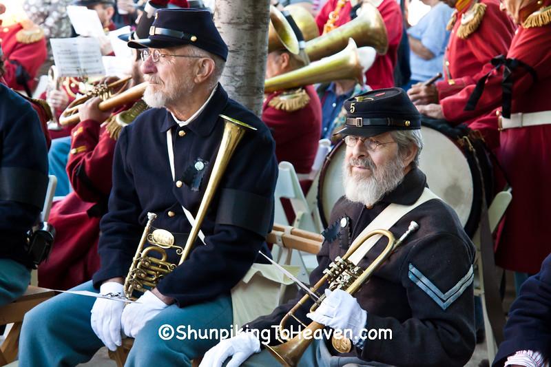 5th Michigan Regiment Band, Springfield, Illinois
