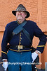 Civil War Reenactor, Springfield, Illinois