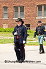 Civil War Officer Reenactors, Springfield, Illinois