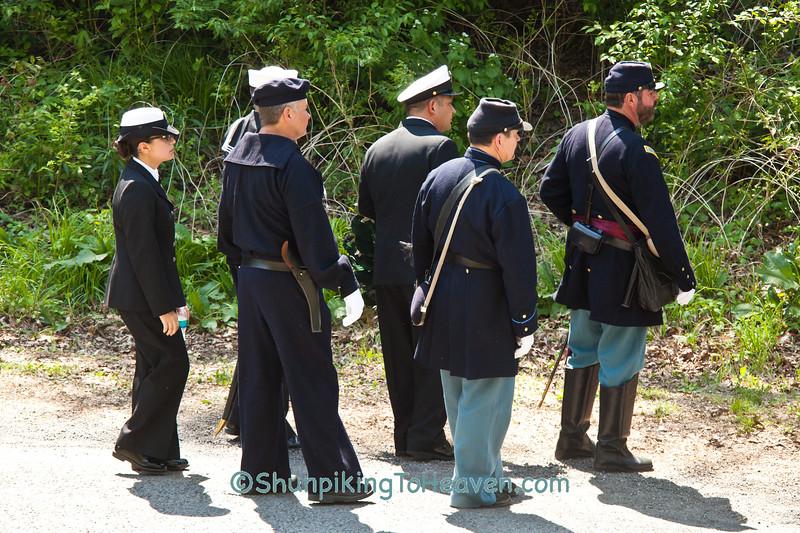 Civil War Reenactors, Springfield, Illinois