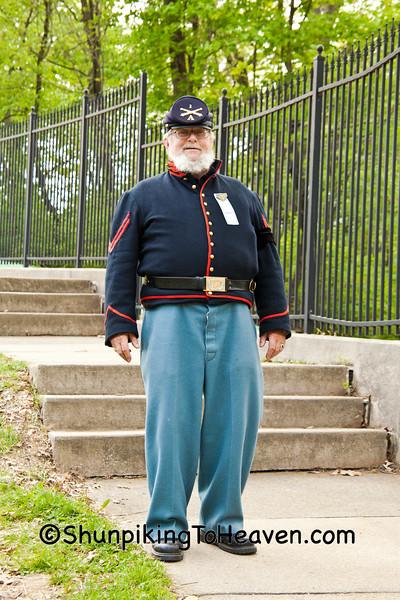 Civil War Reenactors, Springfield, Illinois, Springfield, Illinois