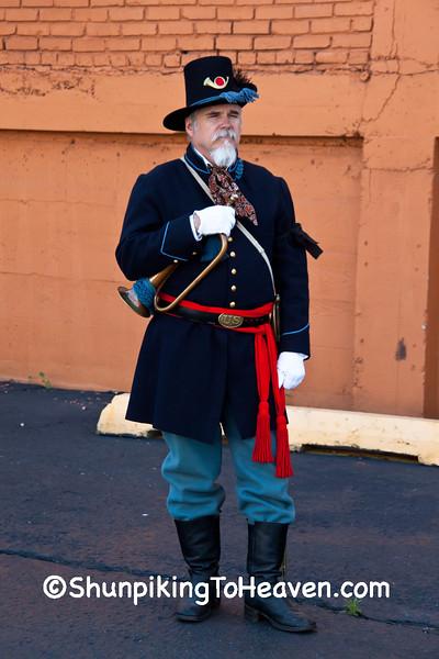 Civil War Reenactor, Springfield, Illinois