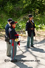 Civil War Troop Reenactor, Springfield, illinois