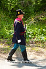 Civil War Officer Reenactor, Springfield, Illinois
