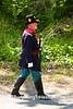 Civil War Officer Reenactor, Springfield, Illinois