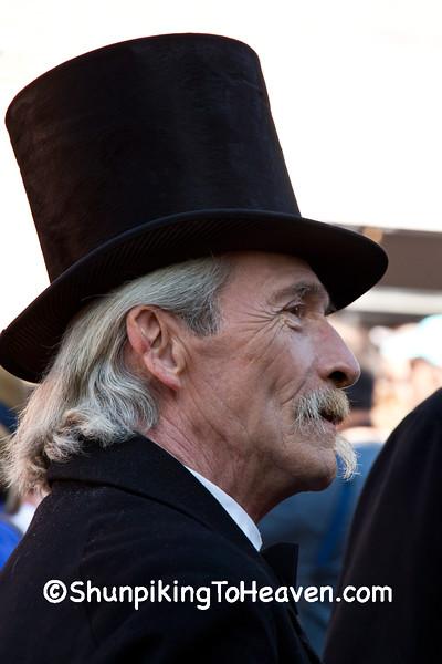 Civil War Era Reenactor, Springfield, Illinois