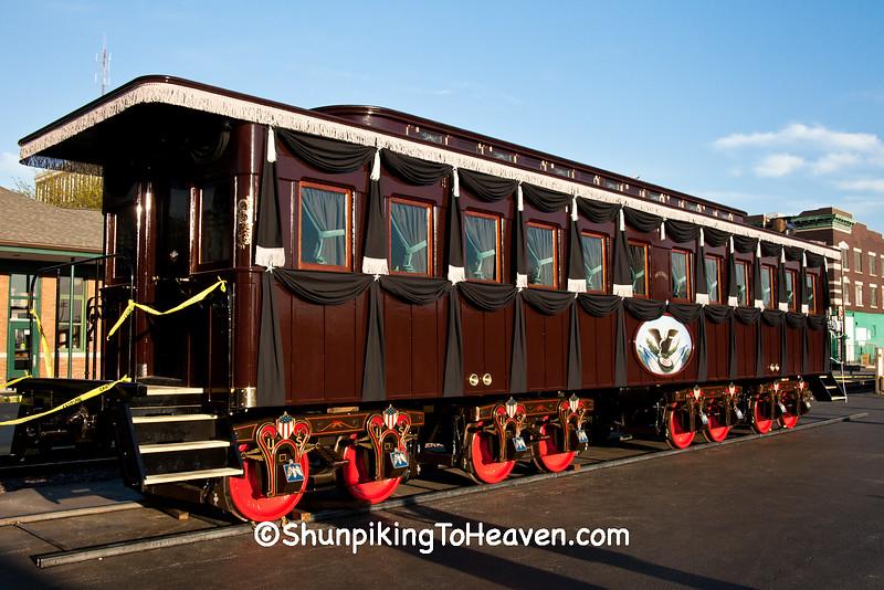 Lincoln Funeral Car Replica, Springfield, Illinois