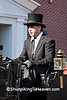 Reenactor in Lincoln Funeral Procession, Springfield, Illinois