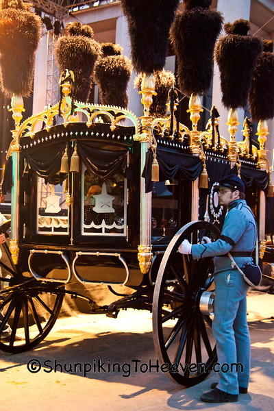 Preparing to Move Lincoln's Hearse, Springfield, Illinois