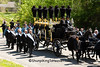 Lincoln's Horse-Drawn Hearse and PallBearers, Springfield, Illinois