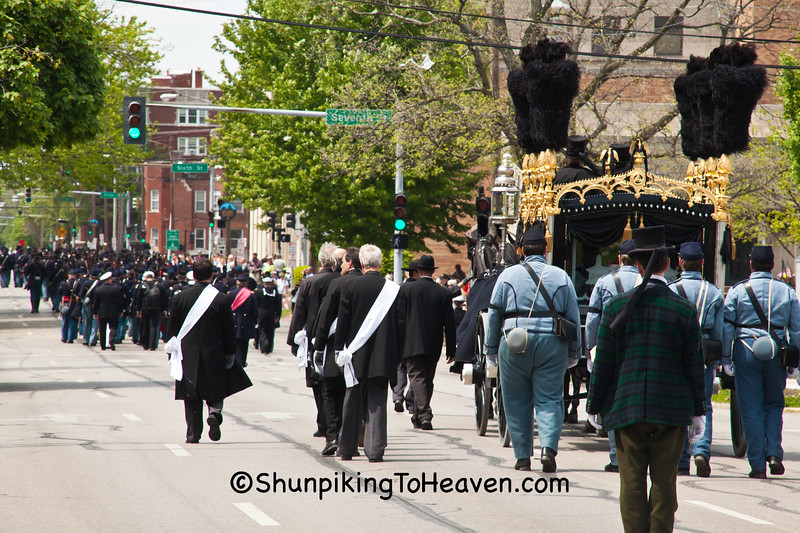 Lincoln Funeral Procession Reenactment, Springfield, Illinois