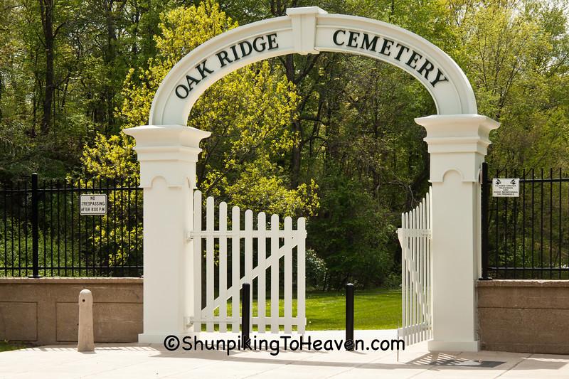 Restored Arched Entrance, Oak Ridge Cemetery, Springfield, Illinois