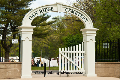 Recreated Arched Entrance, Oak Ridge Cemetery, Springfield, Illinois