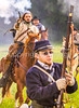 Confederate cavalry chase Union soldiers at Centralia, MO, 150th anniversary reenactment - C1-0356 - 72 ppi-4