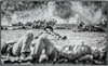 Battle of Pilot Knob, Missouri - 150th Anniversary - C1- 0954 b&w-fly - 72 ppi