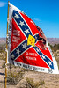 New Mexico - Battle flag commemorating Sibley's Texas Confederates in Socorro - 2-24-12-C3-0019 - 72 ppi