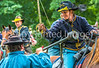 Reenactors in 150th anniversary Civil War event in St  Albans, Vermont - C1-0738 - 72 ppi