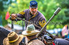 Reenactors in 150th anniversary Civil War event in St  Albans, Vermont - C1-0715 - 72 ppi