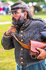 Reenactors in 150th anniversary Civil War event in St  Albans, Vermont - C1-0647 - 72 ppi