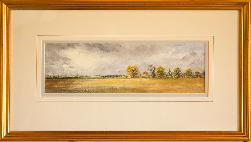 This watercolour has been donated to the Aylsham Show Art Raffle by well known watercolour artist Ken Walton.