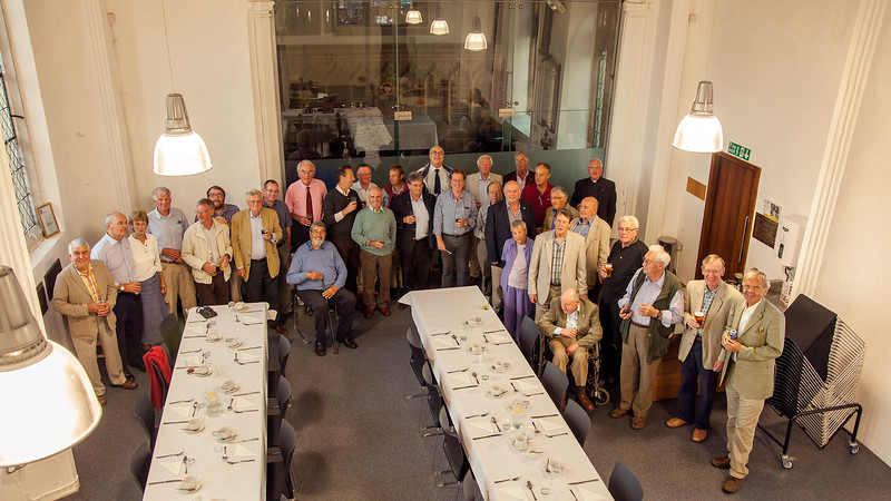The Rotary Club in a new venue at St Michael's