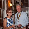 A small presentation was made to Val, having served food to the Club for some 14 years. Her services will be missed.